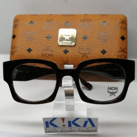 Brand New MCM 2603M Black Frames with Gold studds